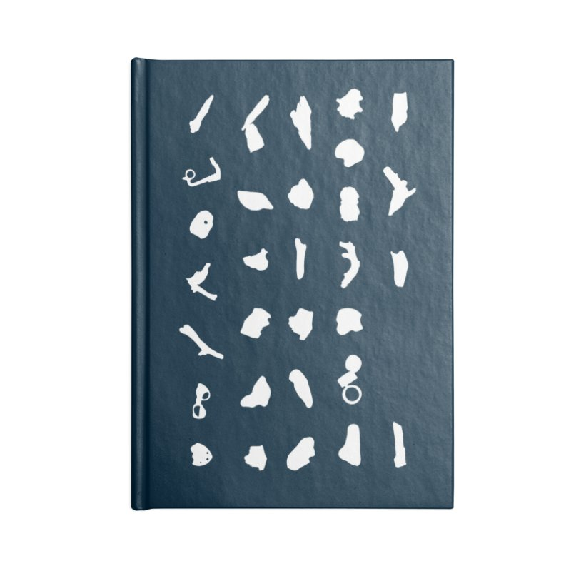 Specimen Accessories Blank Journal Notebook by C R E W