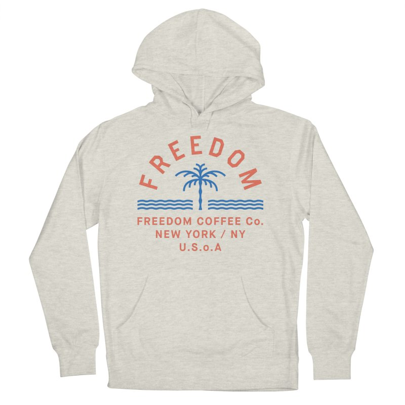 Freedom Coffee Company Women's French Terry Pullover Hoody by C R E W