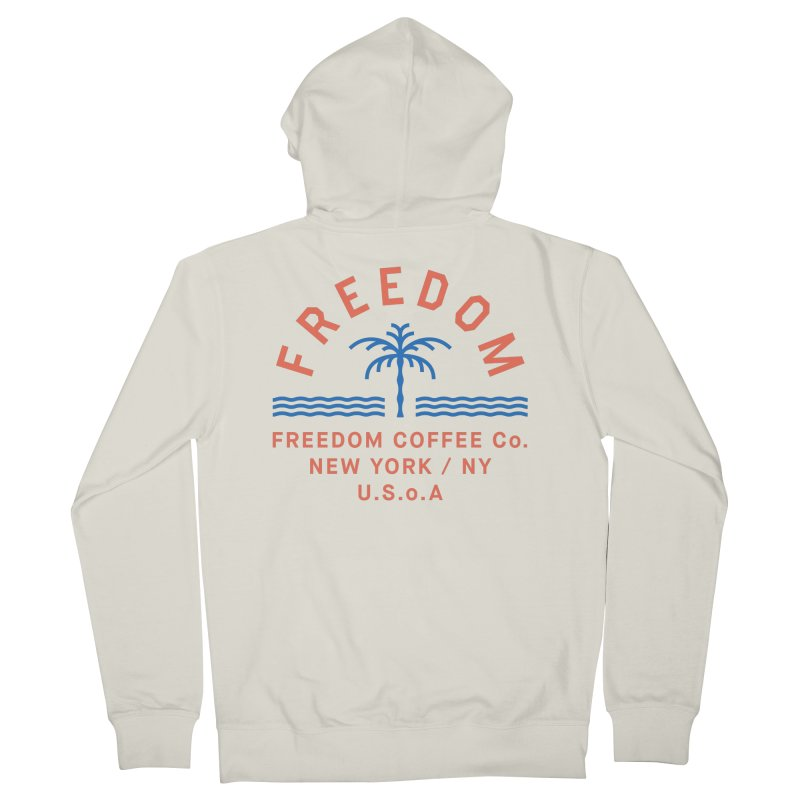 Freedom Coffee Company Men's French Terry Zip-Up Hoody by C R E W