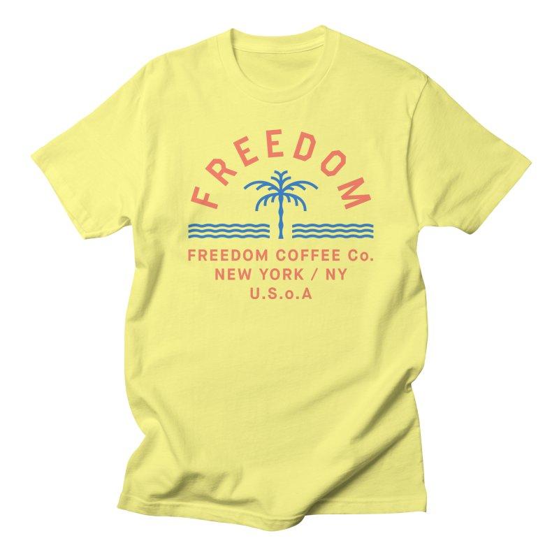 Freedom Coffee Company Women's Regular Unisex T-Shirt by C R E W