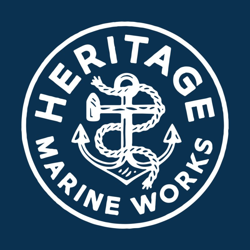 Heritage Marine Works Men's Sweatshirt by C R E W