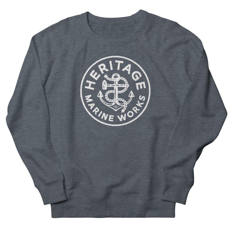 Heritage Marine Works Women's French Terry Sweatshirt by C R E W