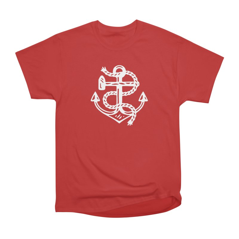 Heritage Anchor Women's Heavyweight Unisex T-Shirt by C R E W