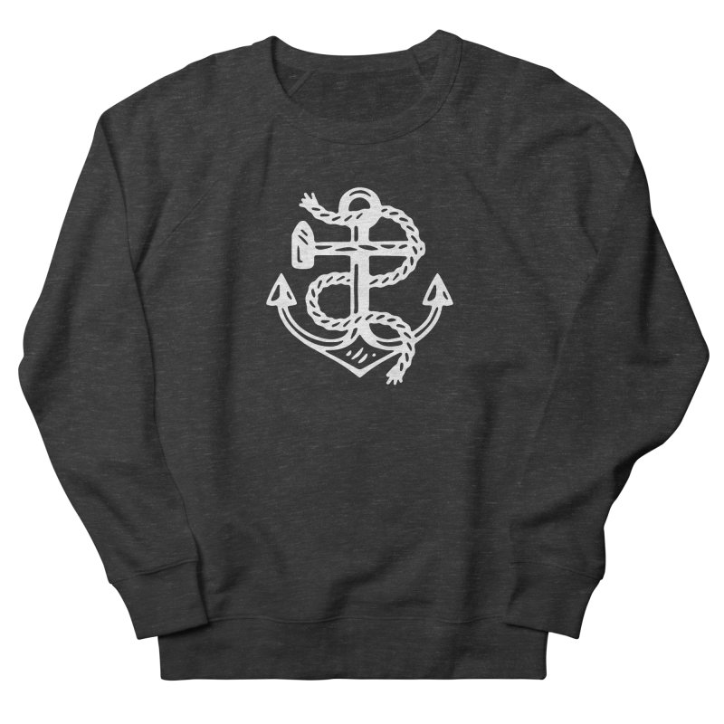 Heritage Anchor Women's French Terry Sweatshirt by C R E W