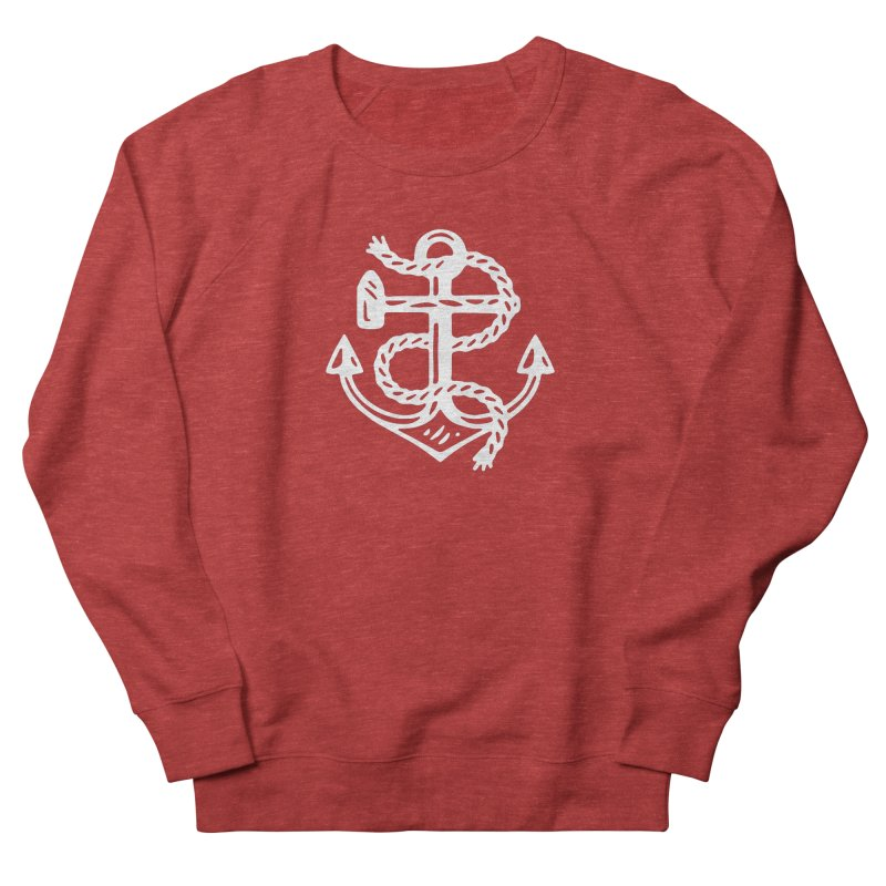 Heritage Anchor Men's French Terry Sweatshirt by C R E W