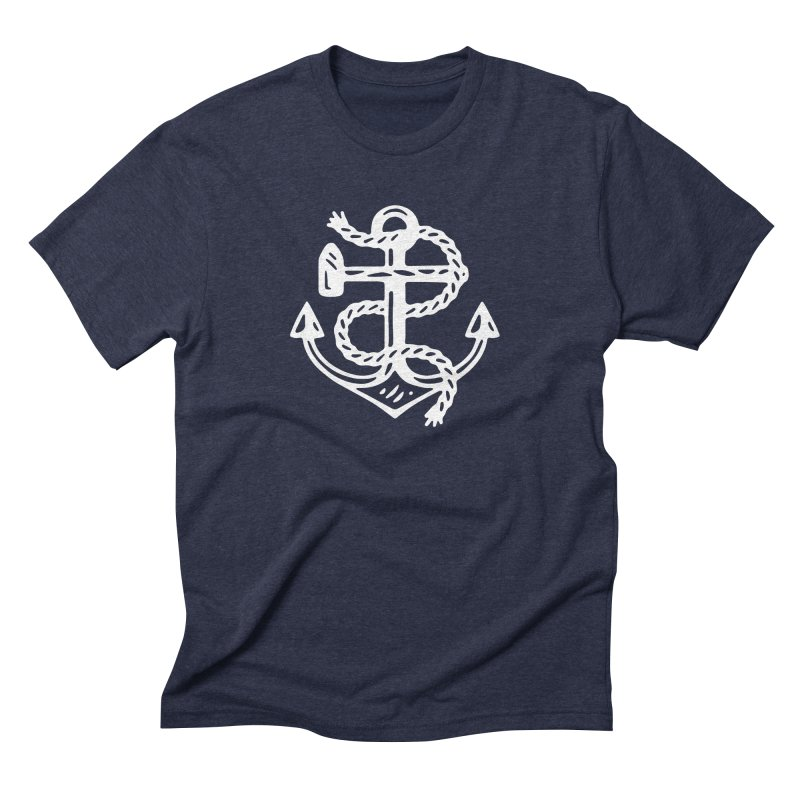 Heritage Anchor Men's Triblend T-Shirt by C R E W