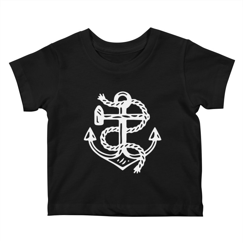 Heritage Anchor Kids Baby T-Shirt by C R E W