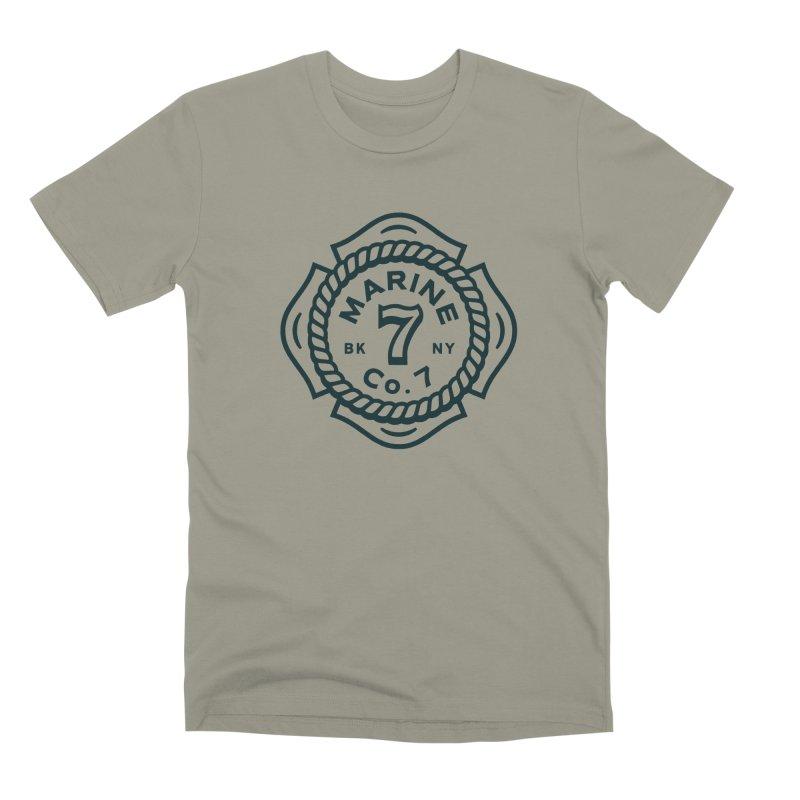 Marine Co. 7 Men's Premium T-Shirt by C R E W