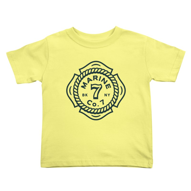 Marine Co. 7 Kids Toddler T-Shirt by C R E W