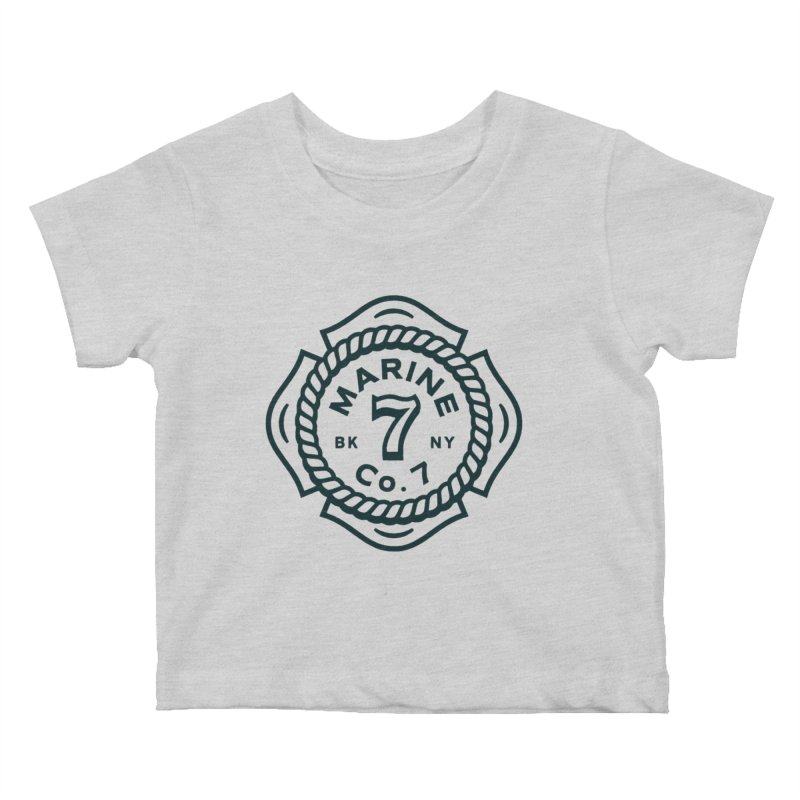 Marine Co. 7 Kids Baby T-Shirt by C R E W