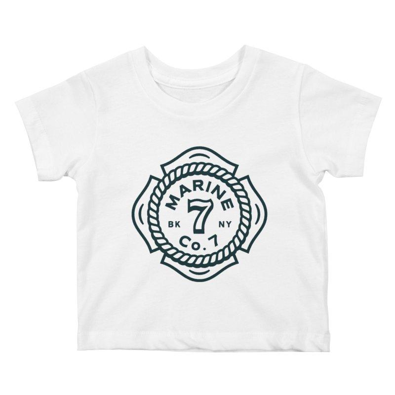 Marine Co. 7 Kids Baby T-Shirt by C R E W