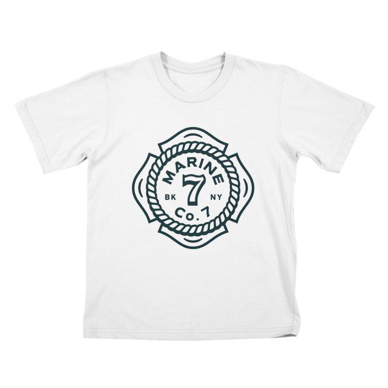 Marine Co. 7 Kids T-Shirt by C R E W