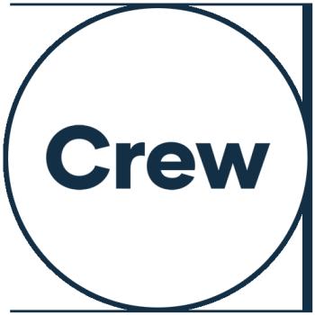C R E W Logo