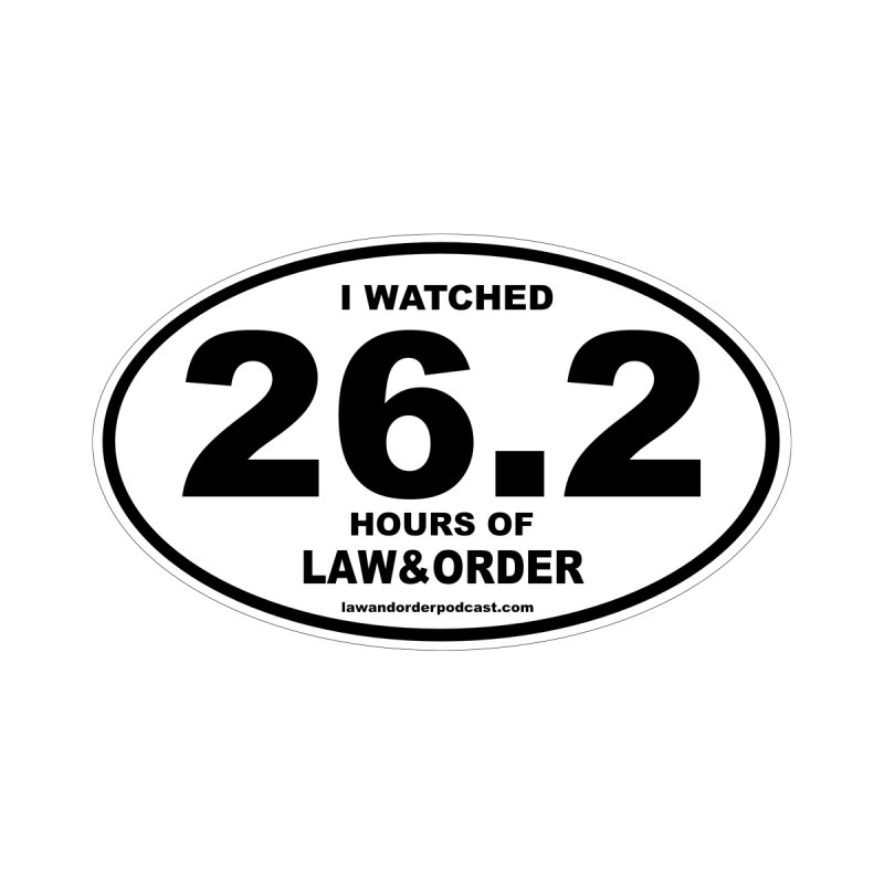 26.2 Law & Order marathon winner by Partners in Crime Media