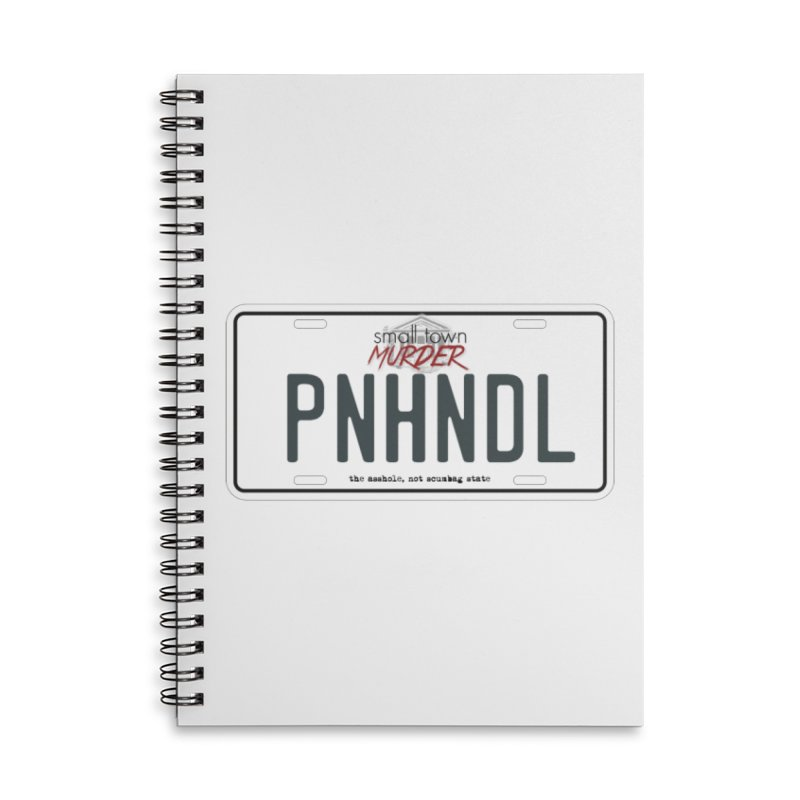 PNHNDL Accessories Lined Spiral Notebook by True Crime Comedy Team Shop