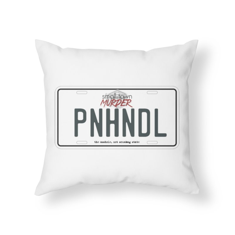 PNHNDL Home Throw Pillow by True Crime Comedy Team Shop