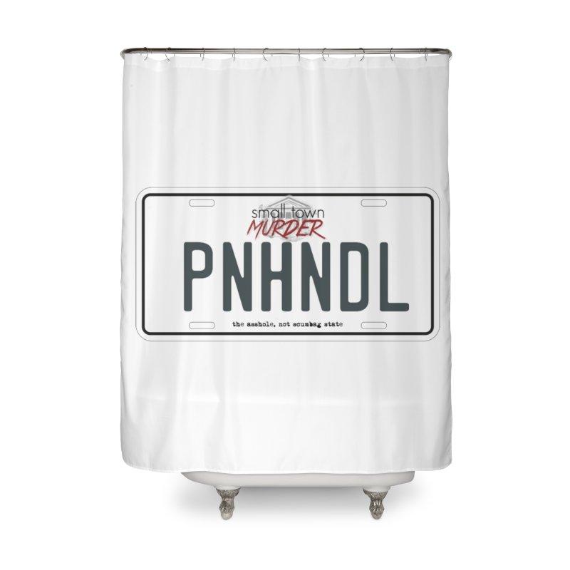 PNHNDL Home Shower Curtain by True Crime Comedy Team Shop