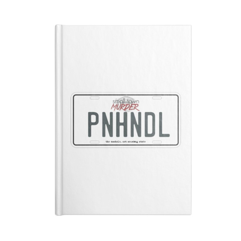 PNHNDL Accessories Blank Journal Notebook by True Crime Comedy Team Shop