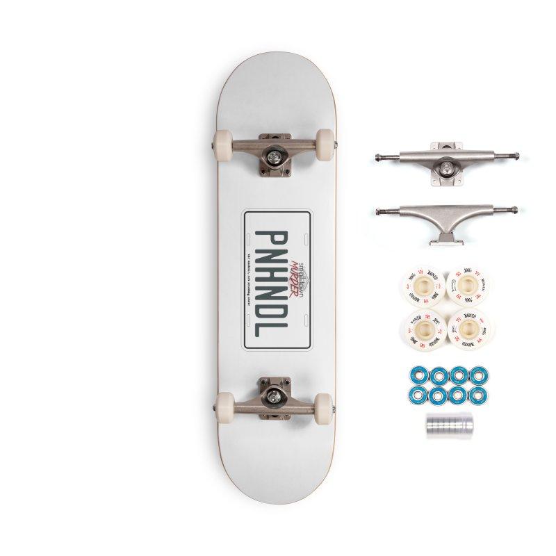 PNHNDL Accessories Complete - Premium Skateboard by True Crime Comedy Team Shop