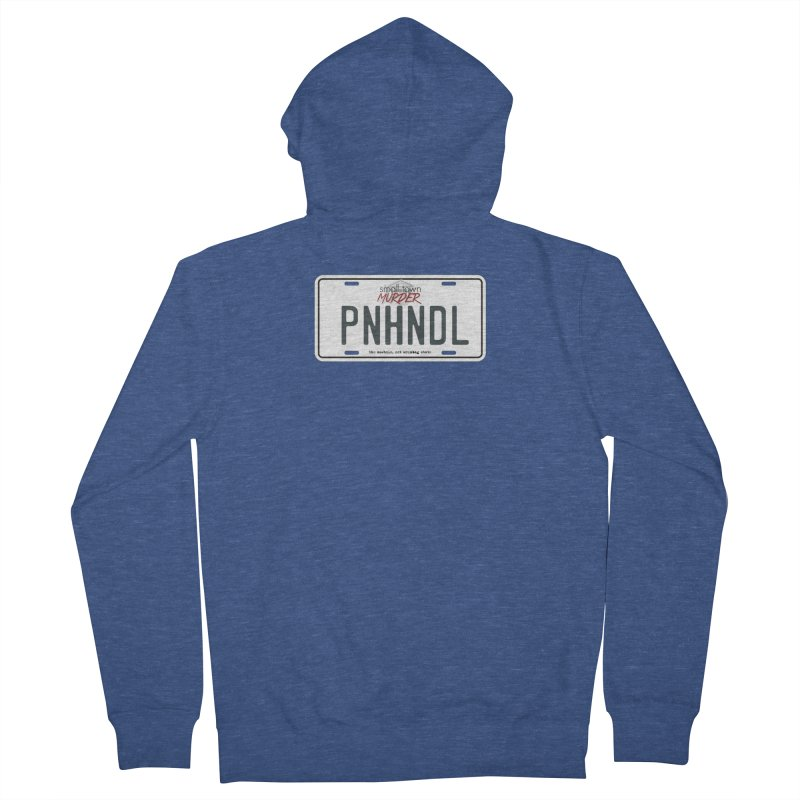 PNHNDL Men's French Terry Zip-Up Hoody by True Crime Comedy Team Shop