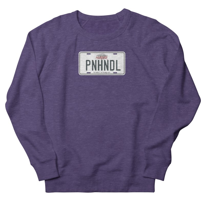 PNHNDL Men's French Terry Sweatshirt by True Crime Comedy Team Shop