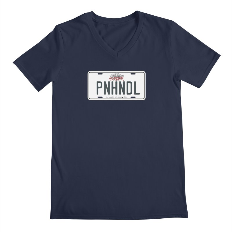 PNHNDL Men's Regular V-Neck by True Crime Comedy Team Shop