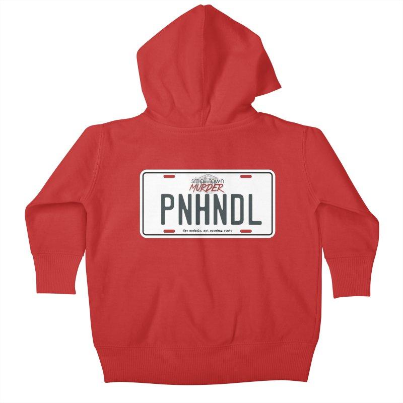 PNHNDL Kids Baby Zip-Up Hoody by True Crime Comedy Team Shop