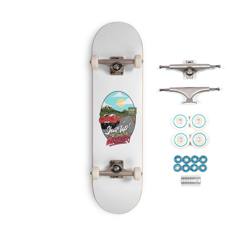 Let's Go On a Trip, Jimmie Accessories Complete - Basic Skateboard by True Crime Comedy Team Shop