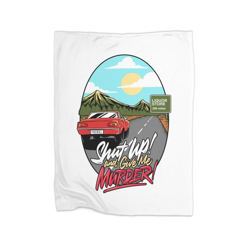 Let's Go On a Trip, Jimmie Home Fleece Blanket Blanket by True Crime Comedy Team Shop
