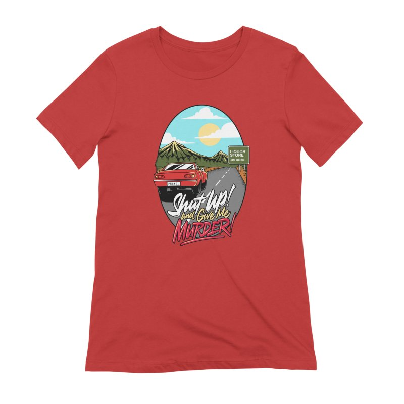 Let's Go On a Trip, Jimmie Women's Extra Soft T-Shirt by True Crime Comedy Team Shop