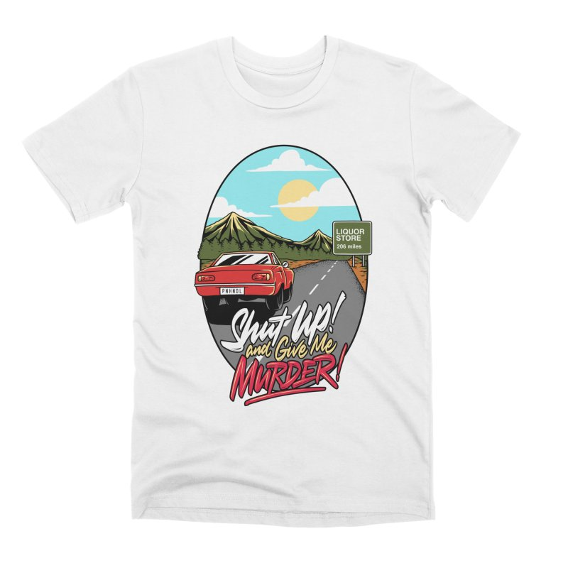 Let's Go On a Trip, Jimmie Men's Premium T-Shirt by True Crime Comedy Team Shop