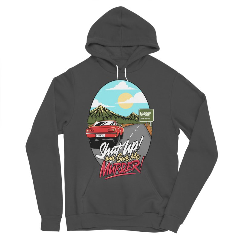 Let's Go On a Trip, Jimmie Men's Sponge Fleece Pullover Hoody by True Crime Comedy Team Shop