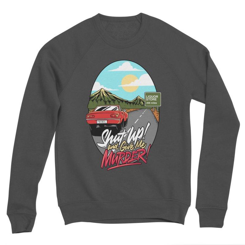 Let's Go On a Trip, Jimmie Men's Sponge Fleece Sweatshirt by True Crime Comedy Team Shop