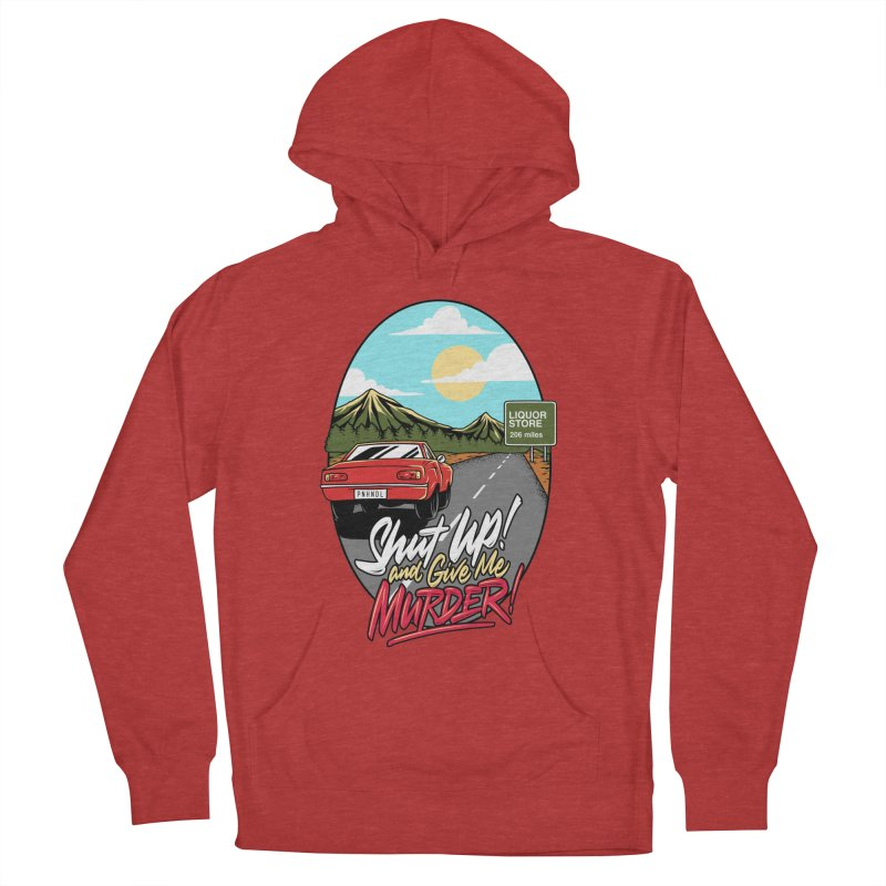 Let's Go On a Trip, Jimmie Men's French Terry Pullover Hoody by True Crime Comedy Team Shop
