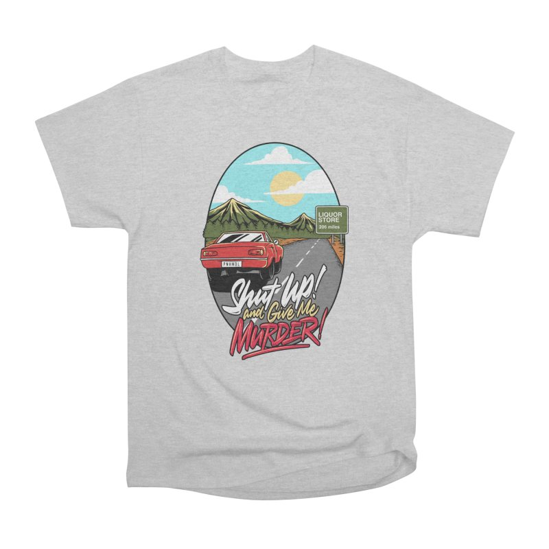 Let's Go On a Trip, Jimmie Men's Heavyweight T-Shirt by True Crime Comedy Team Shop