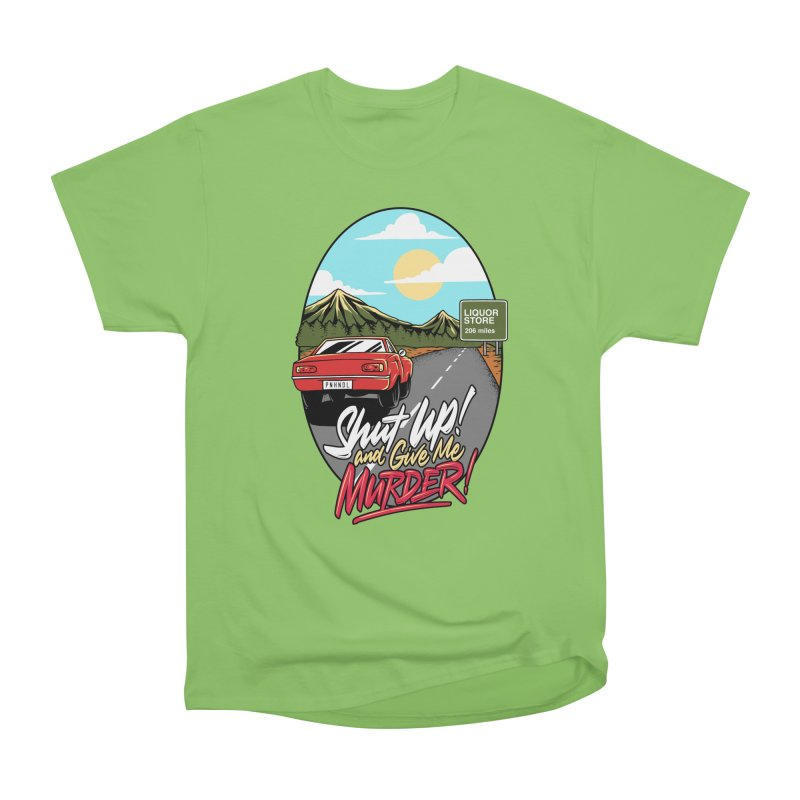 Let's Go On a Trip, Jimmie Women's Heavyweight Unisex T-Shirt by True Crime Comedy Team Shop