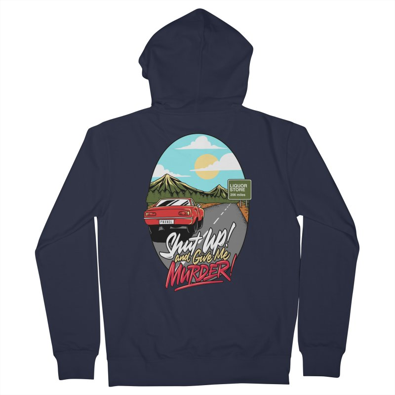 Let's Go On a Trip, Jimmie Women's French Terry Zip-Up Hoody by True Crime Comedy Team Shop