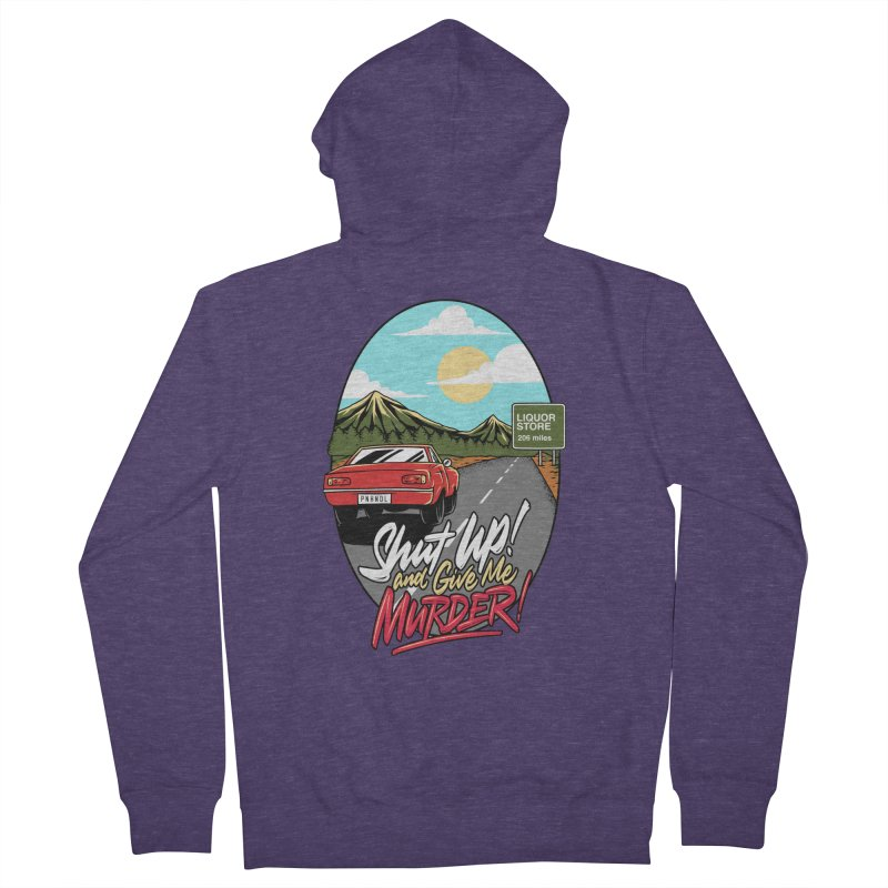 Let's Go On a Trip, Jimmie Men's French Terry Zip-Up Hoody by True Crime Comedy Team Shop
