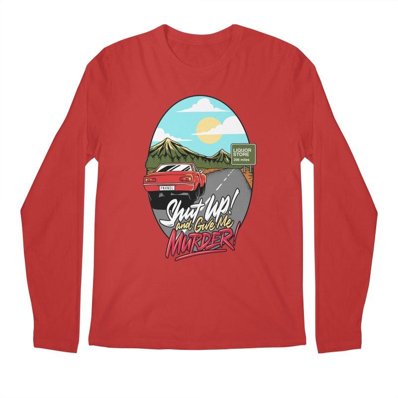 Let's Go On a Trip, Jimmie Men's Regular Longsleeve T-Shirt by True Crime Comedy Team Shop