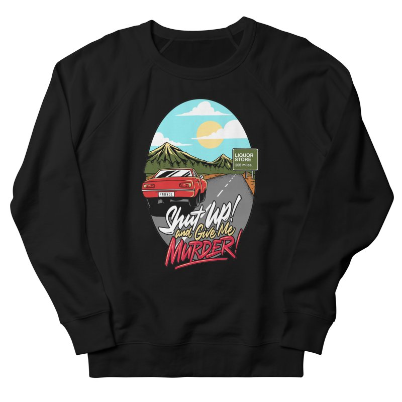 Let's Go On a Trip, Jimmie Men's French Terry Sweatshirt by True Crime Comedy Team Shop