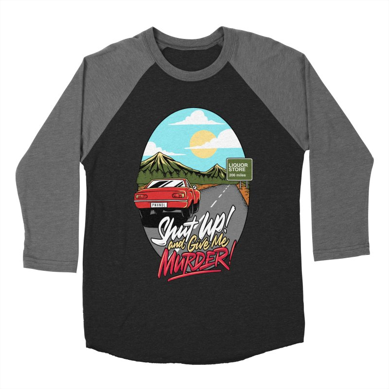 Let's Go On a Trip, Jimmie Women's Baseball Triblend Longsleeve T-Shirt by True Crime Comedy Team Shop