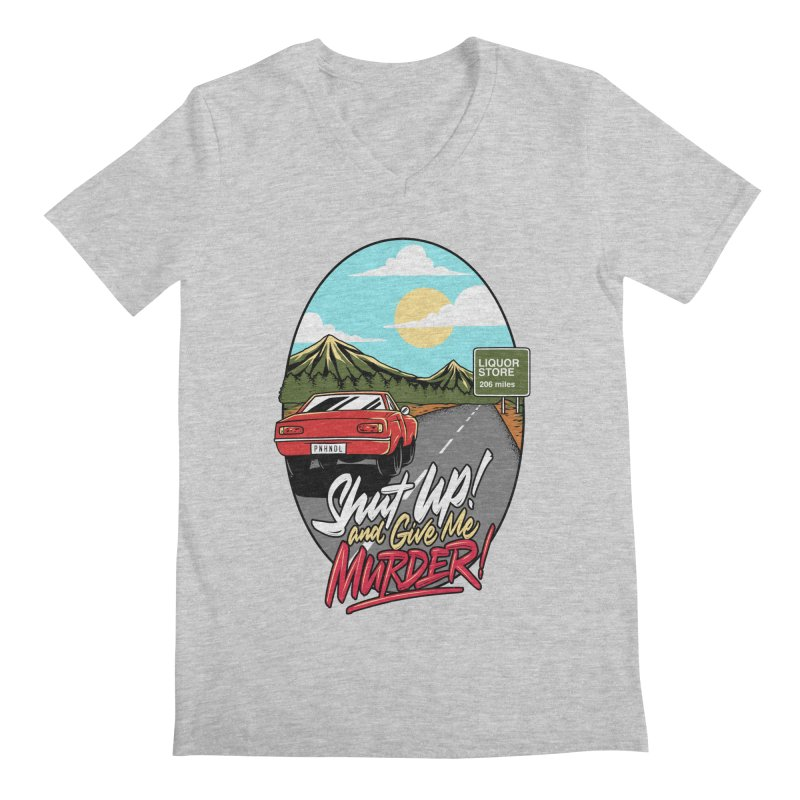 Let's Go On a Trip, Jimmie Men's Regular V-Neck by True Crime Comedy Team Shop