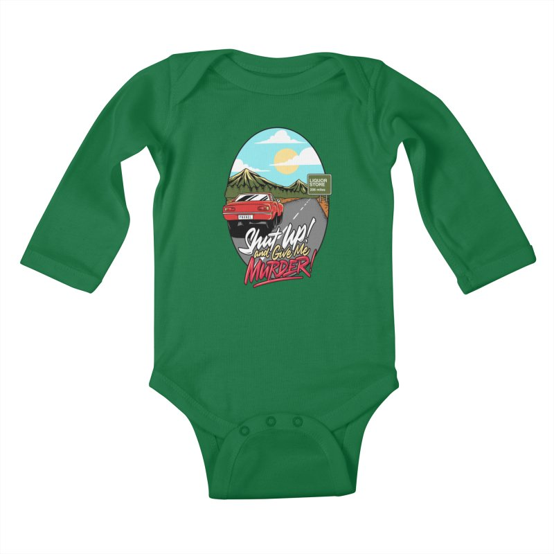 Let's Go On a Trip, Jimmie Kids Baby Longsleeve Bodysuit by True Crime Comedy Team Shop
