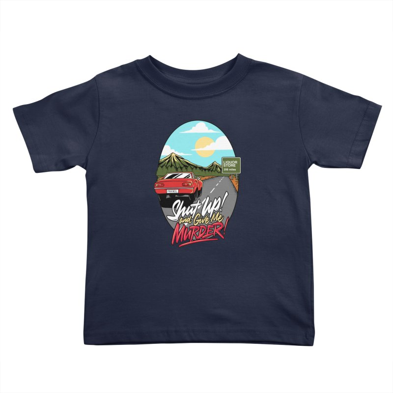 Let's Go On a Trip, Jimmie Kids Toddler T-Shirt by True Crime Comedy Team Shop