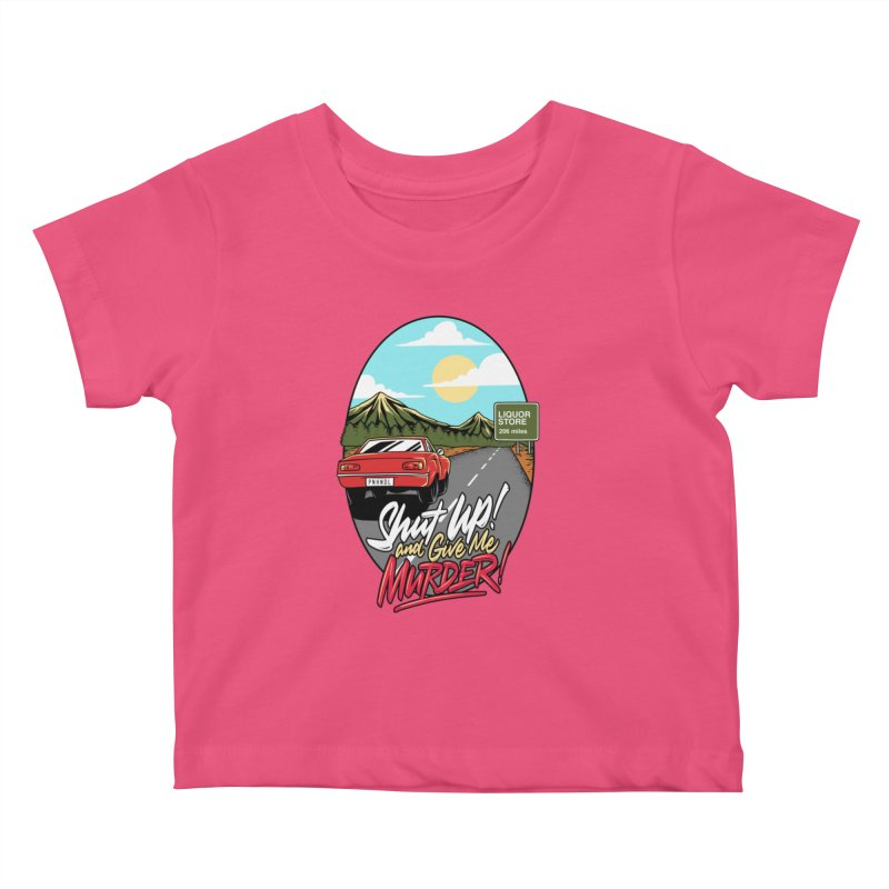 Let's Go On a Trip, Jimmie Kids Baby T-Shirt by True Crime Comedy Team Shop