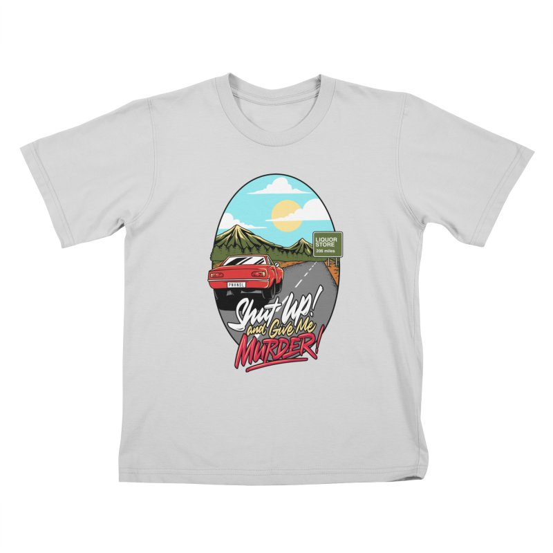 Let's Go On a Trip, Jimmie Kids T-Shirt by True Crime Comedy Team Shop