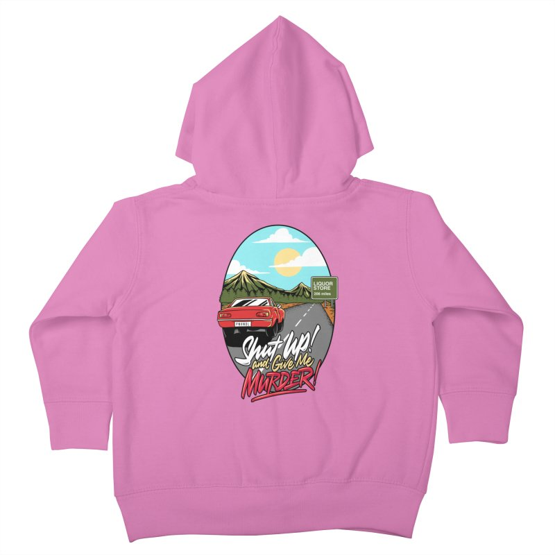Let's Go On a Trip, Jimmie Kids Toddler Zip-Up Hoody by True Crime Comedy Team Shop