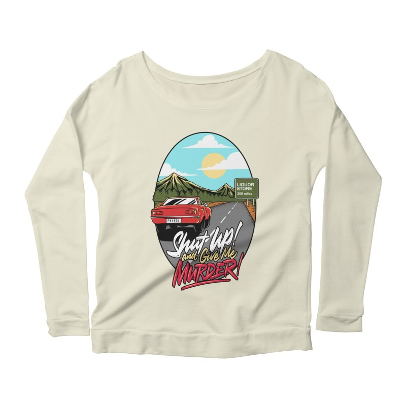 Let's Go On a Trip, Jimmie Women's Scoop Neck Longsleeve T-Shirt by True Crime Comedy Team Shop