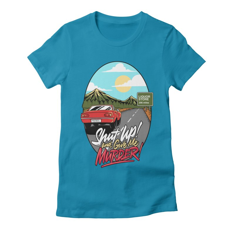Let's Go On a Trip, Jimmie Women's Fitted T-Shirt by True Crime Comedy Team Shop
