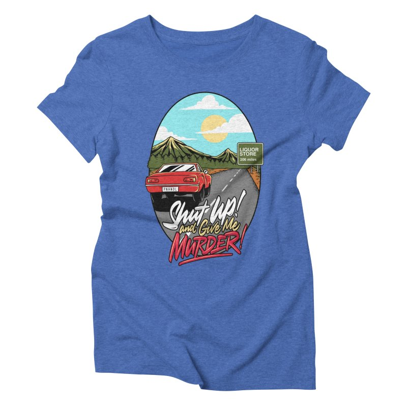 Let's Go On a Trip, Jimmie Women's Triblend T-Shirt by True Crime Comedy Team Shop